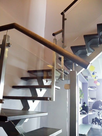 Кованые перила для лестниц - цена от производителя